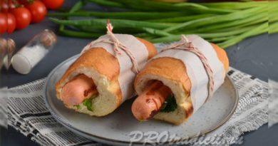 french hotdog