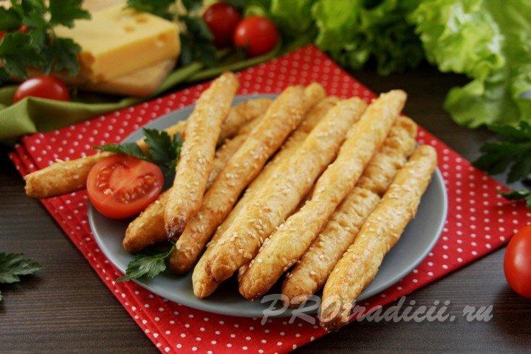 Вкусные палочки из сыра
