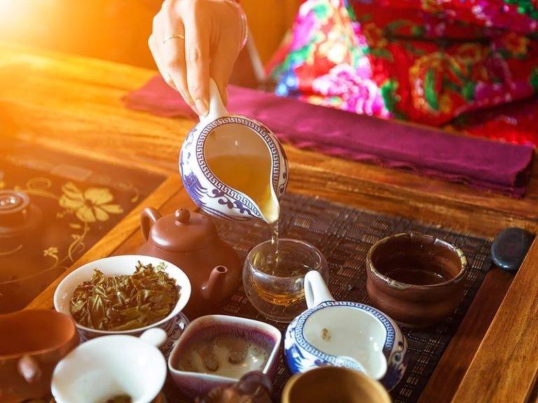 Как и какой пьют чай в Китае