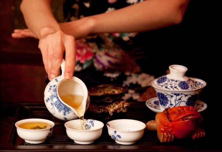 Как проходит чайная церемония в Китае