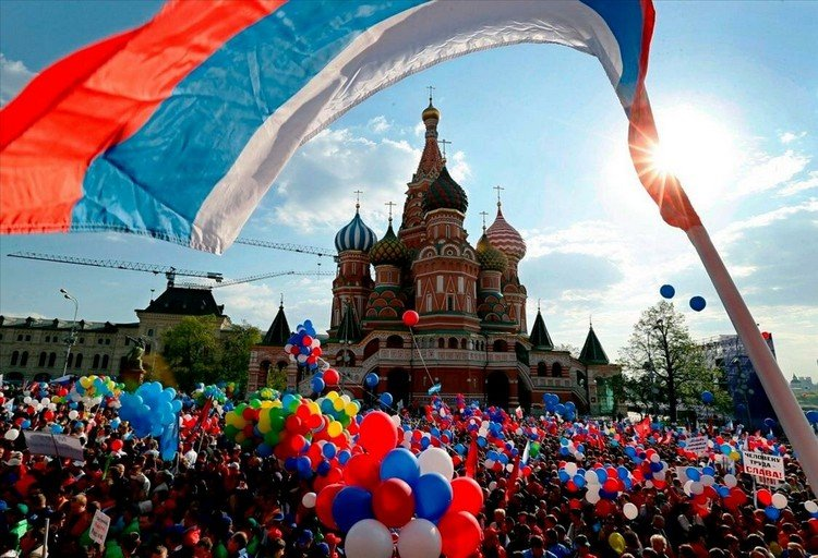 день россии праздник митинг