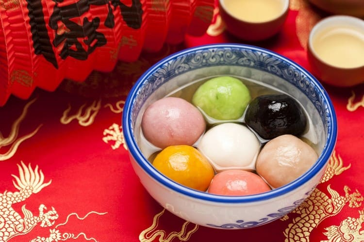 Танъюань - сладкие рисовые шарики