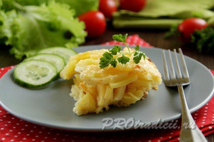 Гратен из картофеля по классическому рецепту