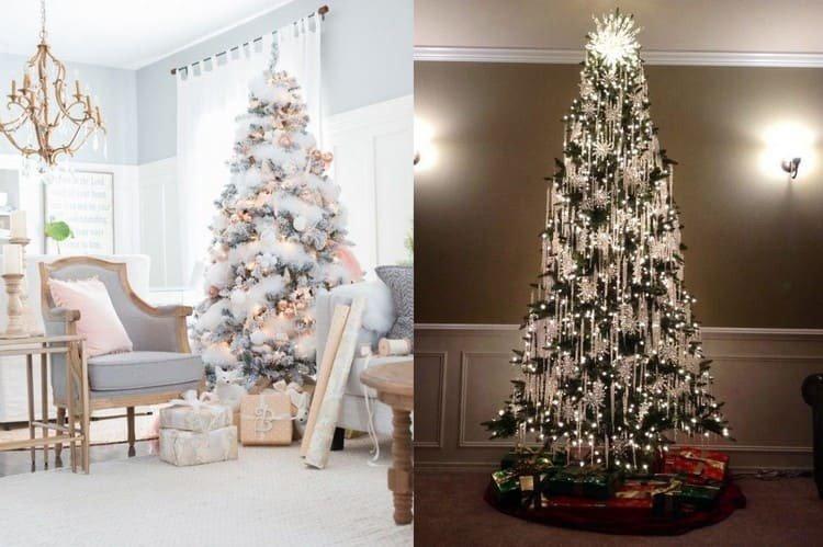 Тренд украшения елки на Нового года