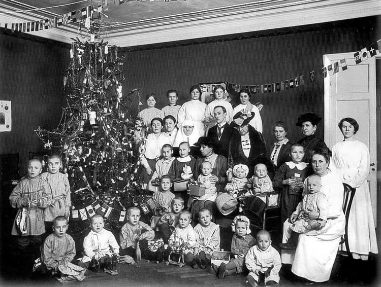 Рождественская елка в семье Романовых