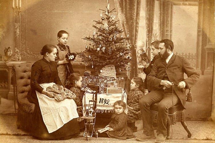 Рождественская елка до Революции