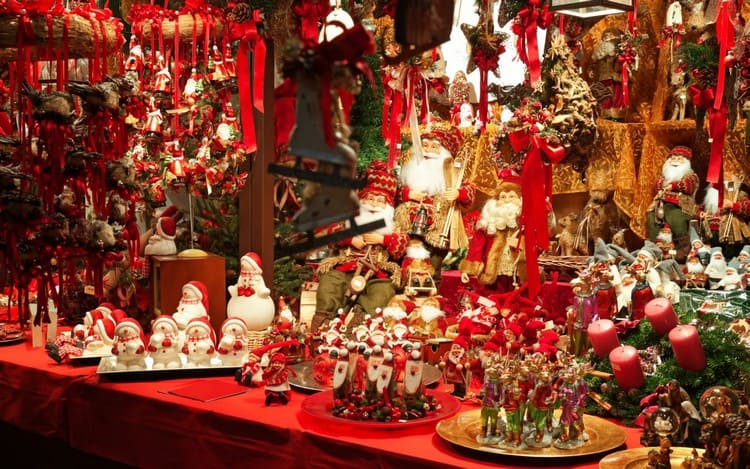 Рождественский подарки во Франции