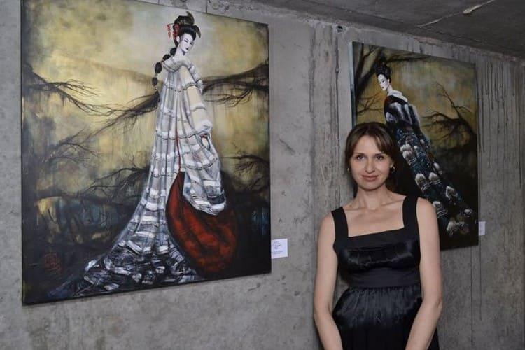 Выставка художницы Татьяны Литвиновой