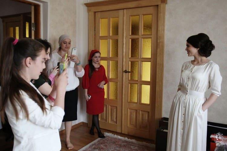 Сватовство в Чечне