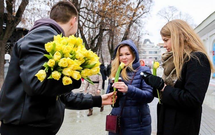 8 марта в Белоруссии