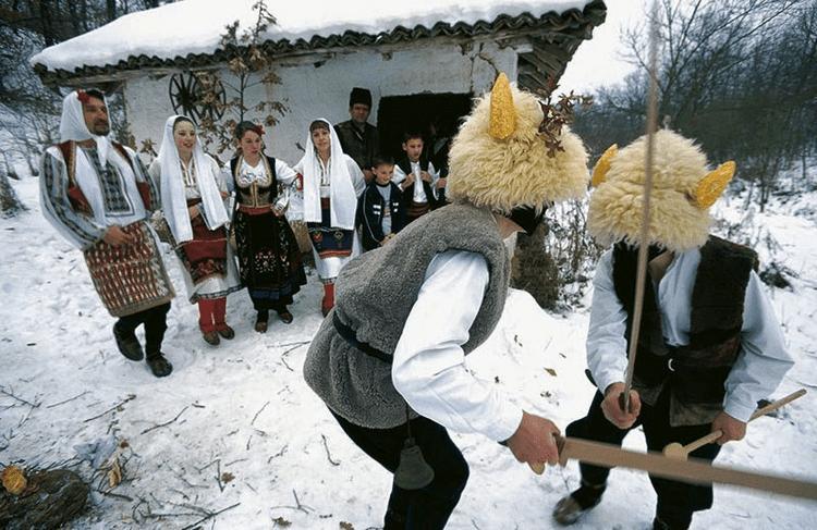 Масленица в Сербии