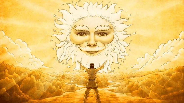 Славянский Бог Солнца - Ярило