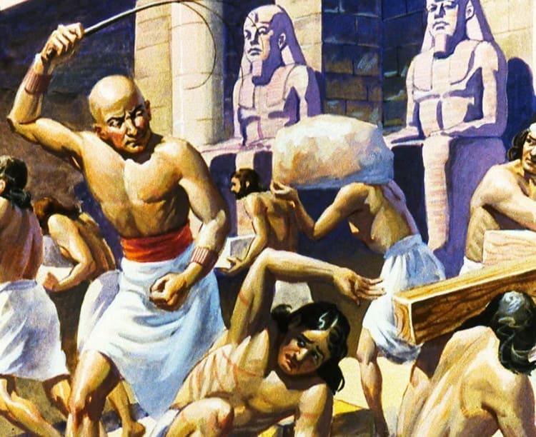 евреи в египетском рабстве