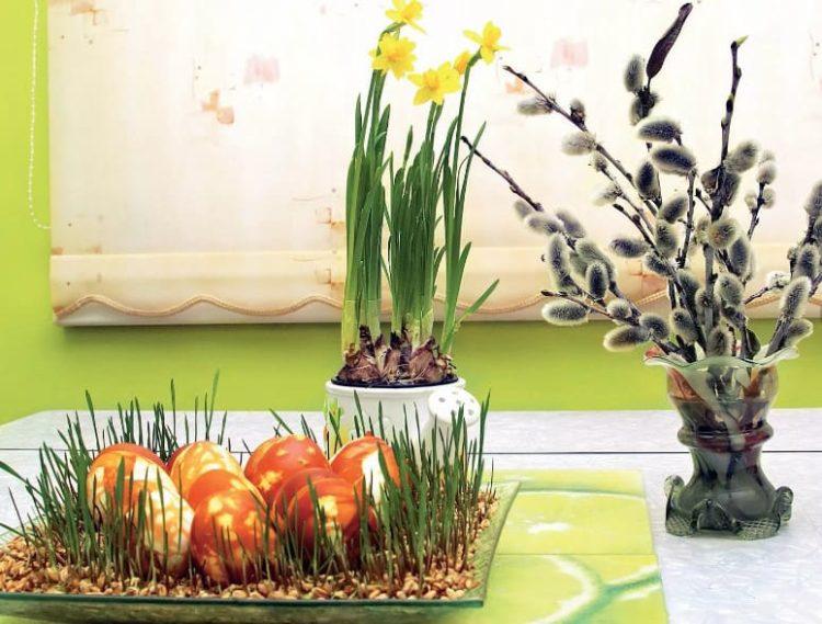 Зерно и крашенки